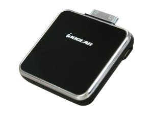 IOGEAR GearPower Black 1500 mAh Portable Battery Pack for iPod and iPhone 4, 3GS, 3G, 3 GMP2000P