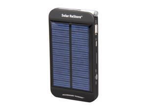 Accessory Power ReVIVE 1500 mAh Solar ReStore External Battery Pack w/ Universal USB Charging Port for Portable Smartp CH-SOLAR-RESTORE