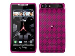 AMZER Hot Pink Hot Pink Argyle Case & Covers