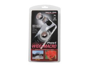 Digital King Magnet Mount Wide and Macro 2-In-1 Lens for iPhone 4 000DKWIDE