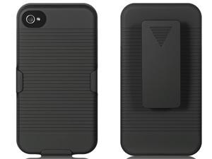 Luxmo Black Black Case & Covers Apple iPhone 4S/iPhone 4