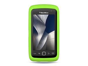 BlackBerry Storm 3/Monza/Torch/9570/9850/9860 Green Silicone Skin Case