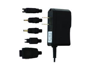MIZCO Black Travel Charger Universal Multi Connector (ACPA)