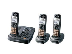 Panasonic KX-TG9343T 1.9 GHz Digital DECT 6.0 3X Handsets Expandable Phone System