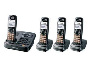 Panasonic KX-TG9344T 1.9 GHz Digital DECT 6.0 4X Handsets Expandable Phone System