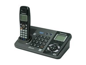 Panasonic KX-TG9381T 1.9 GHz Digital DECT 6.0 2-Line 1X Handsets Cordless Phone with Answering Machine