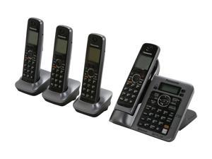 Panasonic KX-TG7644M Link-To-Cell 1.9 GHz Digital DECT 6.0 4X Handsets Cordless Phones