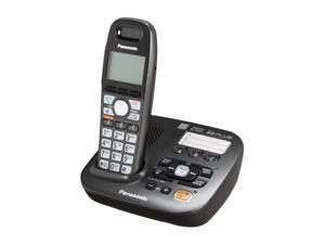 Panasonic KX-TG6591T 1.9 GHz Digital DECT 6.0 1X Handsets Expandable Digital Cordless Answering System Integrated Answering Machine