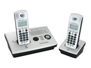 MOTOROLA MOT-MD7161-2 5.8 GHz Digital FHSS 2X Handsets Cordless Phone