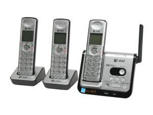 AT&T CL82309 1.9 GHz Digital DECT 6.0 3X Handsets Cordless Phone