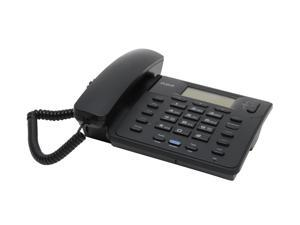 RCA 25201RE1 Corded 2-Line Operation Corded Speakerphone with Caller ID (Black)
