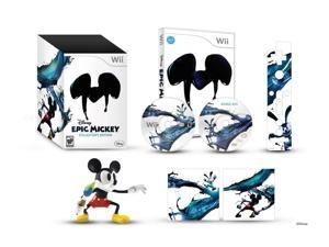 Disney's Epic Mickey Collector Edition Wii Game Disney