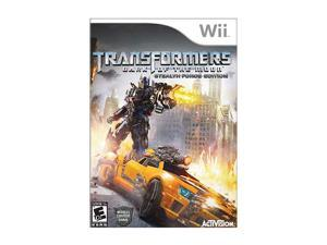 Transformers: Dark of the Moon Wii Game Activision