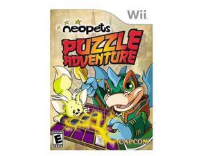 Neopets Puzzle Adventure Wii Game CAPCOM