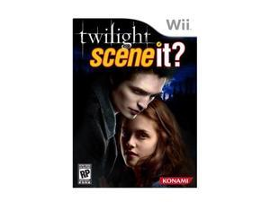 Twilight Scene It? Wii Game KONAMI