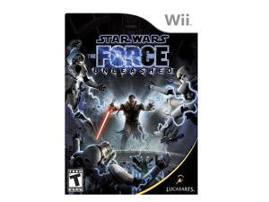 Star Wars: The Force Unleashed Wii Game LUCASARTS