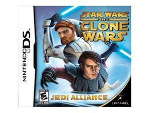 Star Wars: Clone Wars Jedi Alliance Nintendo DS Game LUCASARTS