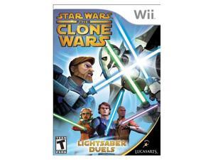 Star Wars: The Clone Wars Wii Game