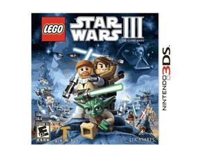 Lego Star Wars III: Clone Wars Nintendo 3DS Game