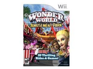 Wonder World Amusement Park Wii Game MAJESCO