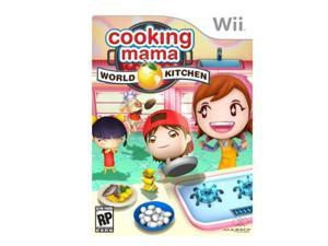 Cooking Mama World Kitchen Wii Game
