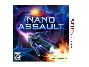Nano Assault 3D Nintendo 3DS Game