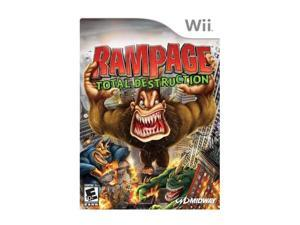 Rampage: Total Destruction Wii Game MIDWAY