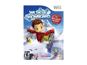 We Ski and Snowboard Wii Game namco