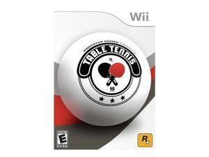 Table Tennis Wii Game ROCKSTAR
