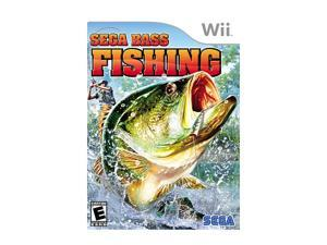 Bass Fishing Wii Game SEGA