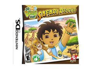Go, Diego, Go! Safari Rescue Nintendo DS Game Take2 Interactive