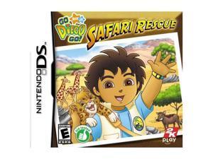 Go, Diego, Go! Safari Rescue Nintendo DS Game