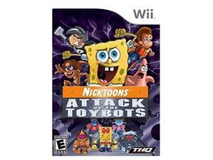Nicktoons: Attack of the Toybots Wii Game
