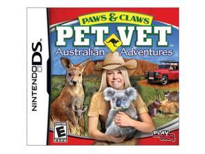 Paws & Claws Pet vet Australian Adventure Nintendo DS Game THQ