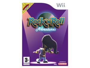 Rock and Roll Adventures Wii Game