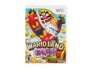 Wario Land: Shake It! Wii Game Nintendo
