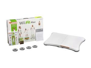 Wii Fit Plus w/Balance Board Wii Game Nintendo