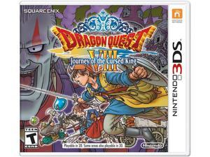 Dragon Quest VIII: Journey to the Cursed King Nintendo 3DS Video Games