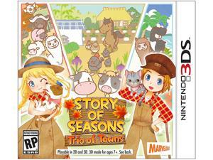 Story of Seasons: Trio of Towns Nintendo 3DS Video Games