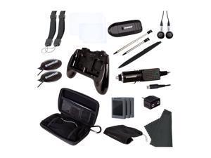 dreamGEAR 3DS 20-in-1 Starter Kit Black