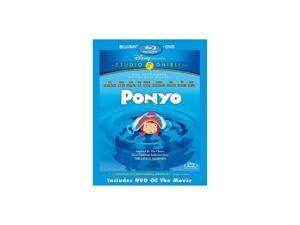 Ponyo (BD Combo Pack / BR / DVD / WS 1.85 / ENG-SP-SUB / JA-FR-Both)