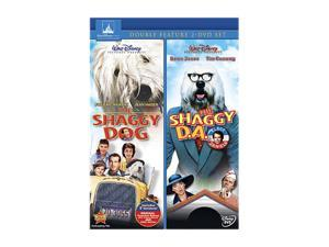 The Shaggy D.A. / The Shaggy Dog  (DVD / 2 DISC) Dean Jones, Tim Conway , Suzanne Pleshette, Keenan Wynn, Fred MacMurray, Jean Hagen, Tommy Kirk, Annette Funicello