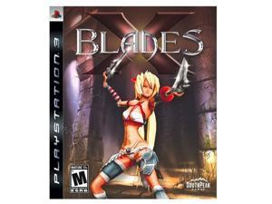 X Blades Playstation3 Game SOUTH PEAK