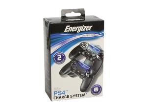 PDP Energizer 2X Charging System for PlayStation 4