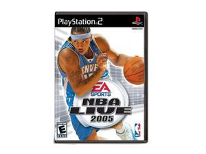 NBA Live 2005 PlayStation 2 (PS2) Game EA