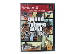 Grand Theft Auto San Andreas Playstation 2 Game Rockstar Gaming