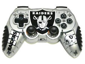 Mad Catz Officially Licensed Oakland Raiders NFL Wireless PS2 Controller