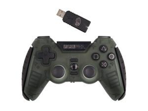 Mad Catz F.P.S. Pro Wireless GamePad for PlayStation 3 - Army Green