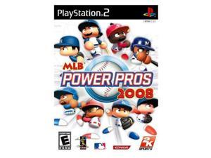 MLB Power Pros 2008 PlayStation 2 (PS2) Game 2K SPORTS