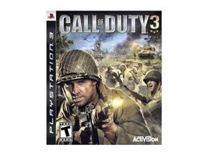 Call of Duty 3 Playstation3 Game Activision
